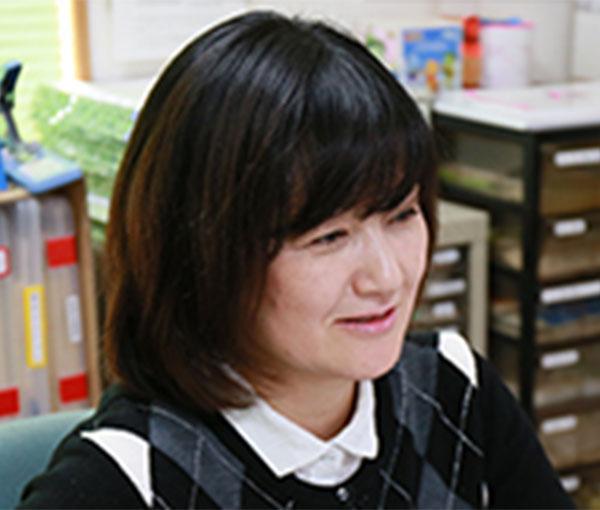 正職員(業務部 主任)  中町優子